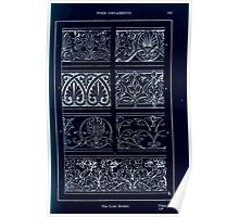 A Handbook Of Ornament With Three Hundred Plates Franz Sales Meyer 1896 0179 Free Ornaments Link Border Inverted Poster