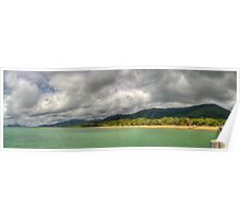 Palm Cove Panoramic HDR Poster