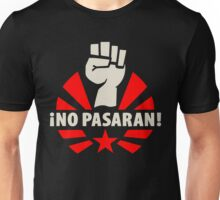 No Pasaran Fist & Star Unisex T-Shirt