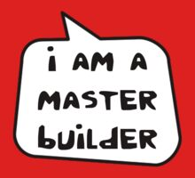 I AM A MASTER BUILDER by Bubble-Tees.com One Piece - Short Sleeve