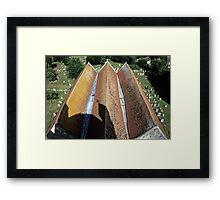 The Long And The Short Framed Print
