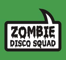 ZOMBIE DISCO SQUAD by Bubble-Tees.com One Piece - Short Sleeve