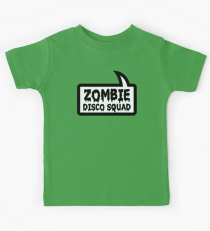 ZOMBIE DISCO SQUAD by Bubble-Tees.com Kids Tee