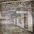 The old railway platform by julie anne  grattan