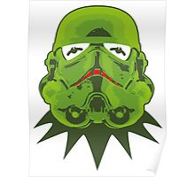 Kermitroopers stencil art Poster