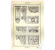 A Handbook Of Ornament With Three Hundred Plates Franz Sales Meyer 1896 0253 Supports Console Poster