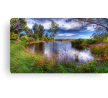 Peaceful Pond Canvas Print