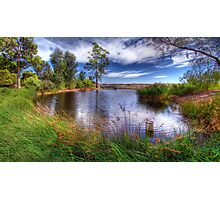 Peaceful Pond Photographic Print