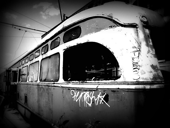 """""""All aboard the train for those who have abandoned all hope! All Aboard!"""" by ShellyKay"""
