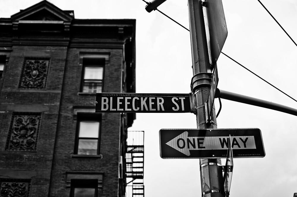 Bleecker Street, NYC by NikonNoob