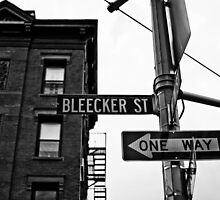 Bleecker Street, NYC by NikonNoob