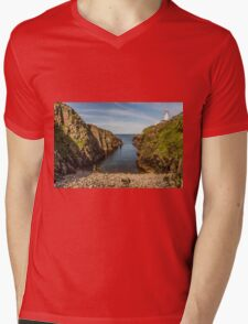 Fanad Head Lighthouse Mens V-Neck T-Shirt