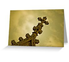 St. Partick's Cathedral, 5th Ave, NYC Greeting Card