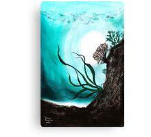 Jade Lagoon Canvas Print