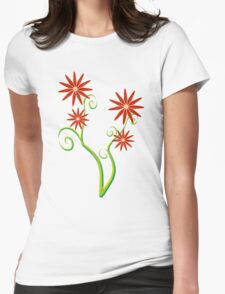 Red blossom flowers T-Shirt