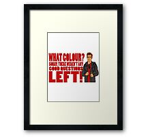 Rory's Question Framed Print