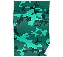 Army Camouflage by Chillee Wilson Poster