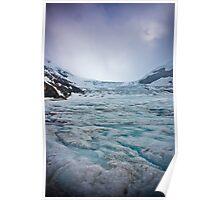Athabasca Glacier in Banff National Park Poster