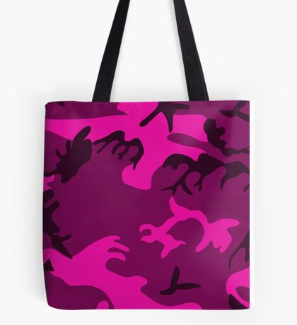 Army Camouflage by Chillee Wilson Tote Bag