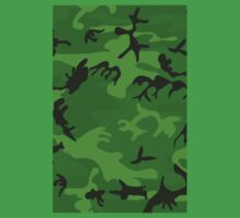 Army Camouflage by Chillee Wilson Kids Clothes