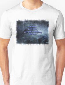 Nothing but shit Unisex T-Shirt