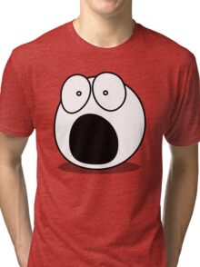 What? by Chillee Wilson Tri-blend T-Shirt