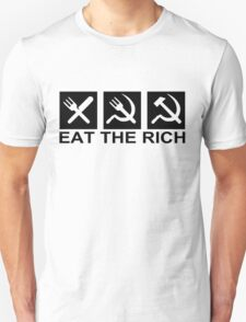 EAT THE RICH, by Chillee Wilson T-Shirt