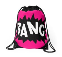 Cartoon Bang by Chillee Wilson Drawstring Bag