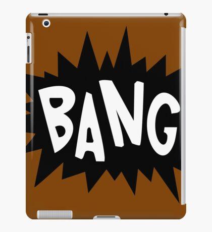 Cartoon Bang by Chillee Wilson iPad Case/Skin