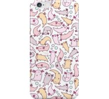 Adorable Axolotls iPhone Case/Skin
