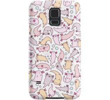 Adorable Axolotls Samsung Galaxy Case/Skin