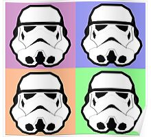 Super Size Colorized Stormtrooper Poster
