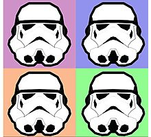 Super Size Colorized Stormtrooper Photographic Print