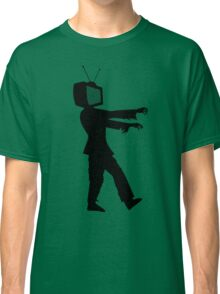 Zombie TV Guy by Chillee Wilson Classic T-Shirt