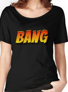 Cartoon BANG by Chillee Wilson Women's Relaxed Fit T-Shirt