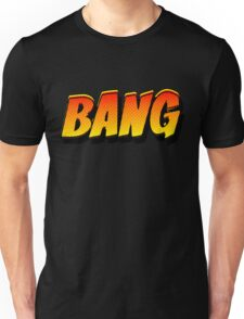 Cartoon BANG by Chillee Wilson Unisex T-Shirt
