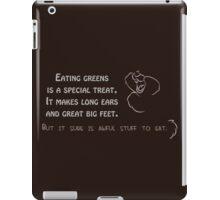 Awful stuff to eat iPad Case/Skin