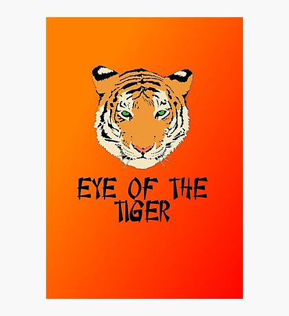 Eye of the Tiger by Chillee Wilson Photographic Print