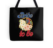 Retro bride to be Tote Bag