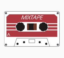 Mixtape Cassette Tape by Chillee Wilson Baby Tee