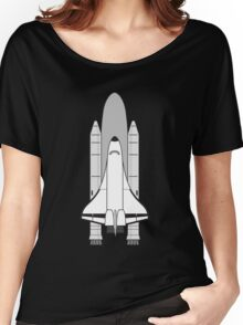 NASA Space Shuttle by Chillee Wilson Women's Relaxed Fit T-Shirt