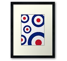Mod Targets by 'Chillee Wilson'  Framed Print