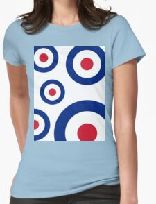 Mod Targets by 'Chillee Wilson'  Womens Fitted T-Shirt