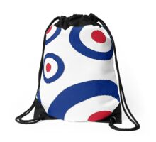 Mod Targets by 'Chillee Wilson'  Drawstring Bag