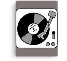 Retro Record Player by Chillee Wilson Canvas Print