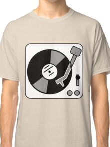 Retro Record Player by Chillee Wilson Classic T-Shirt