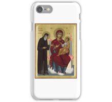 Virgin Mary orthodox panagia icon St Paisios  iPhone Case/Skin