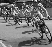 Faster boys faster!! by Glynn Jackson