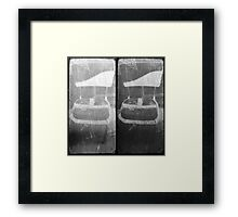 """""""Both of you, sit down and shut up."""" Framed Print"""