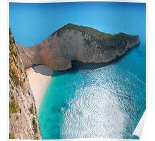 Zakynthos Island - Greece Poster